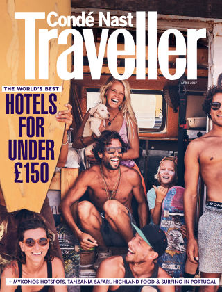Conde Nast Traveller April 2017