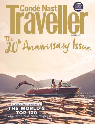 Conde Nast Traveller Oct 2017
