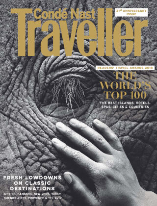 Conde Nast Traveller October 2018