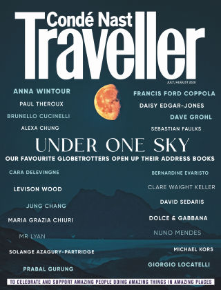 Conde Nast Traveller July/August 2020