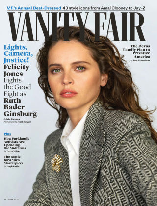 Vanity Fair - UK October 2018