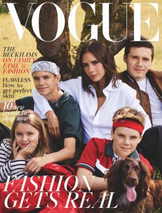 Vogue October 2018