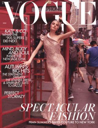 Vogue November 2018