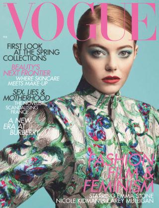 Vogue February 2019