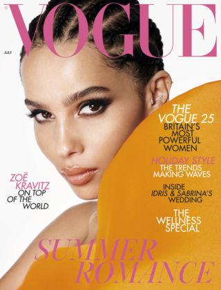 Vogue July 2019
