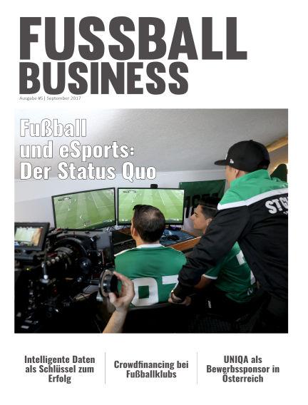 FUSSBALL BUSINESS September 22, 2017 00:00