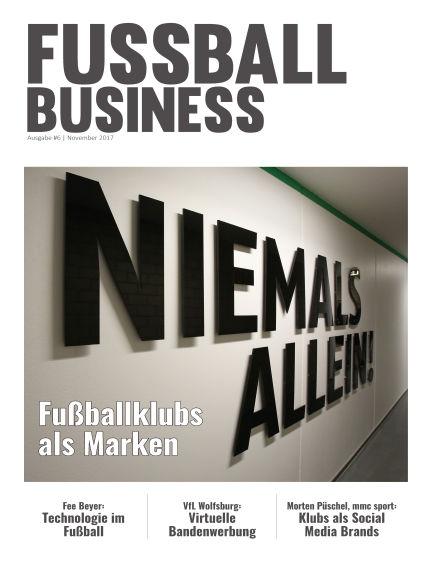 FOOTBALL BUSINESS Magazine November 03, 2017 00:00