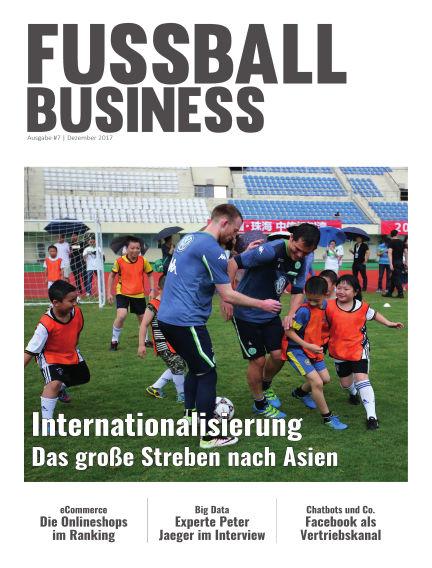 FOOTBALL BUSINESS Magazine December 15, 2017 00:00