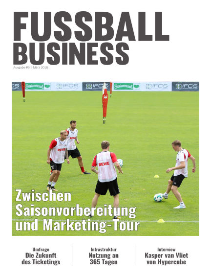 FOOTBALL BUSINESS Magazine March 23, 2018 00:00