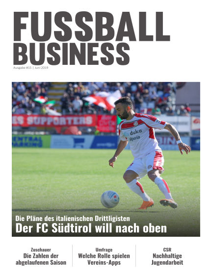 FOOTBALL BUSINESS Magazine June 18, 2019 00:00