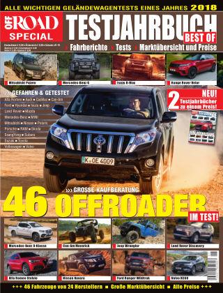 Testjahrbuch OFF ROAD / SUV Magazin 2018