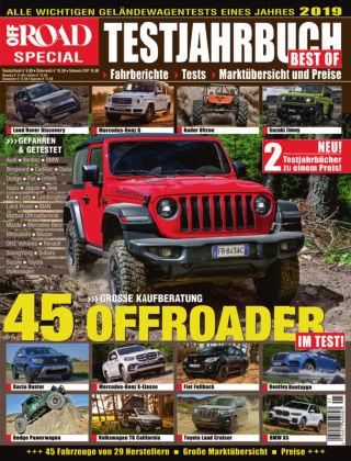 Testjahrbuch OFF ROAD / SUV Magazin 2019