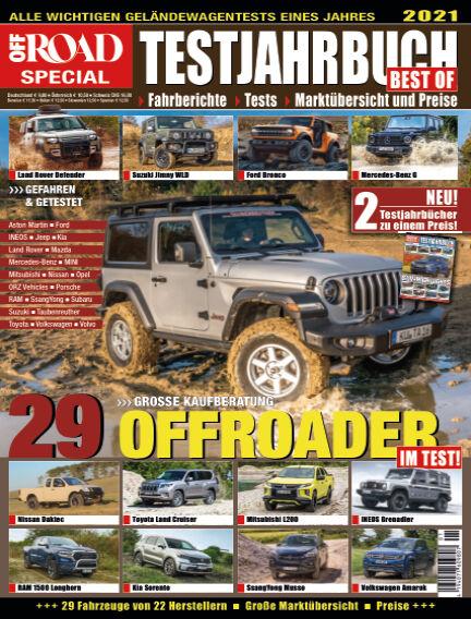 Testjahrbuch OFF ROAD / SUV Magazin March 09, 2021 00:00