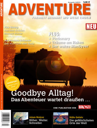 ADVENTURE Magazin 01/2015
