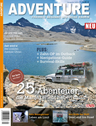 ADVENTURE Magazin 01/2014