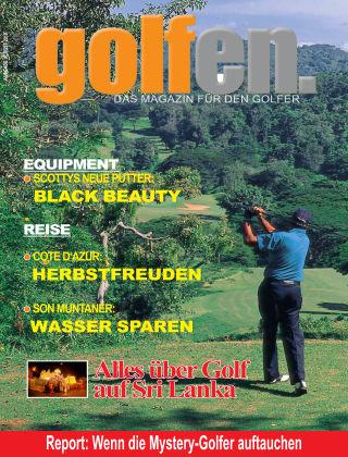 golfen Herbst 2018