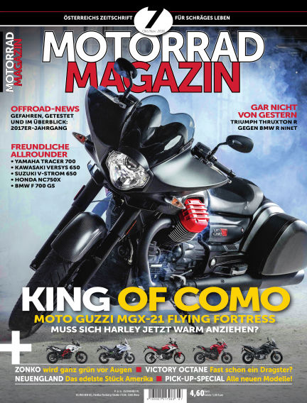 Motorradmagazin November 04, 2016 00:00