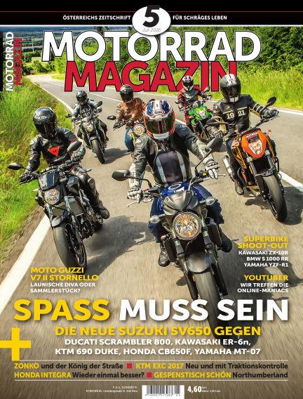 Motorradmagazin June 22, 2016 00:00