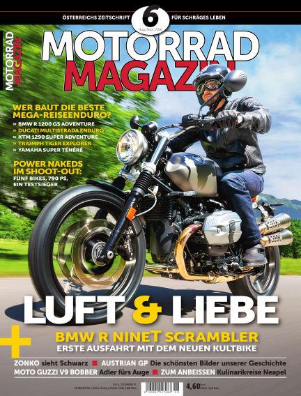 Motorradmagazin July 20, 2016 00:00
