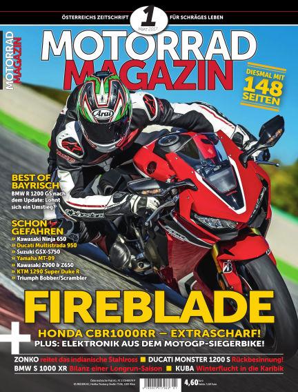 Motorradmagazin February 16, 2017 00:00