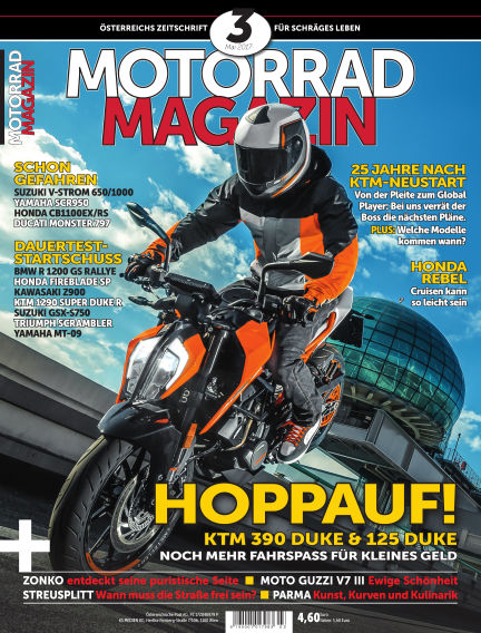 Motorradmagazin April 20, 2017 00:00