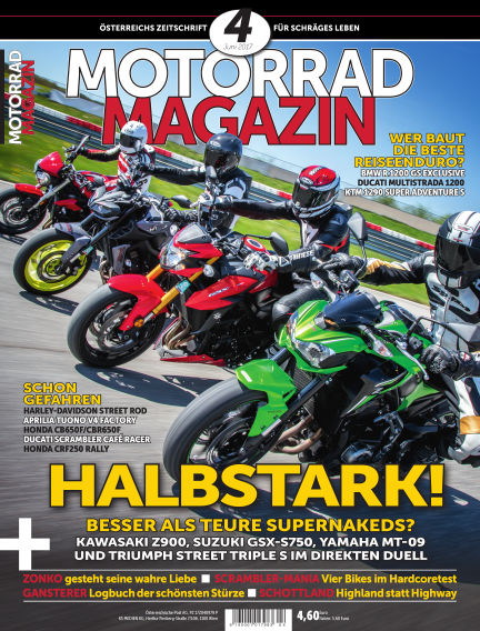 Motorradmagazin May 18, 2017 00:00
