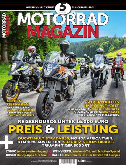 Motorradmagazin June 22, 2017 00:00