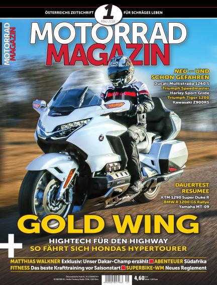 Motorradmagazin February 08, 2018 00:00