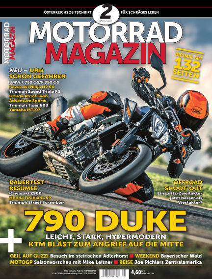 Motorradmagazin March 15, 2018 00:00