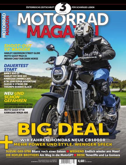 Motorradmagazin April 19, 2018 00:00