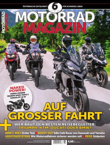 Motorradmagazin July 19, 2018 00:00