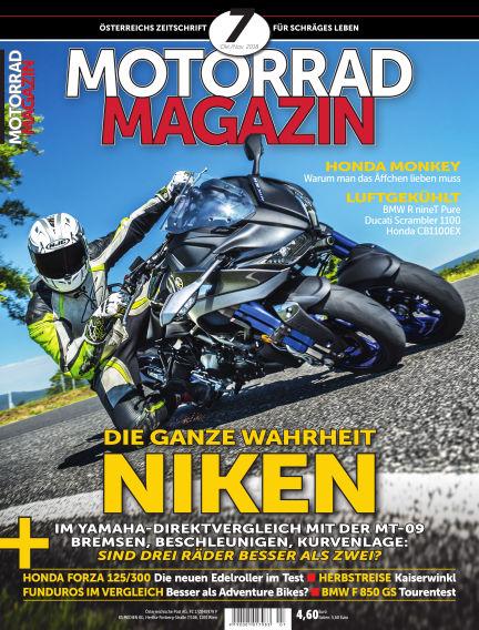 Motorradmagazin September 13, 2018 00:00