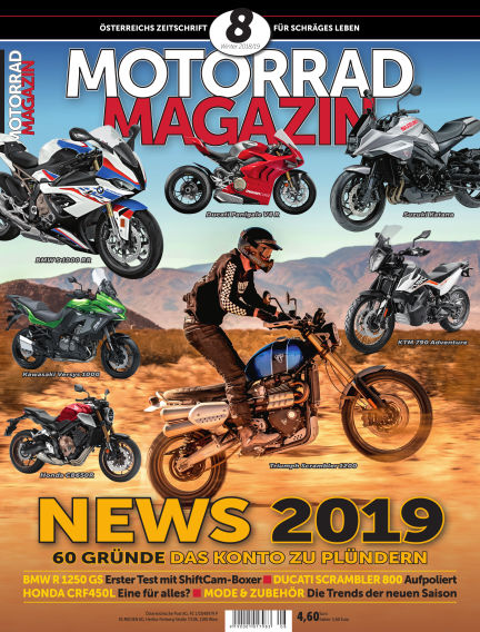 Motorradmagazin November 22, 2018 00:00