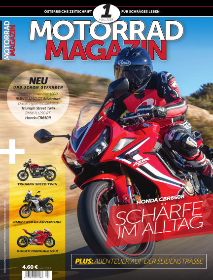 Motorradmagazin February 07, 2019 00:00