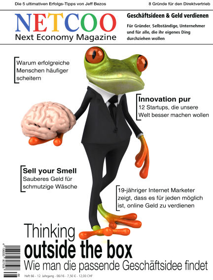 Netcoo Next Economy Magazine June 27, 2016 00:00