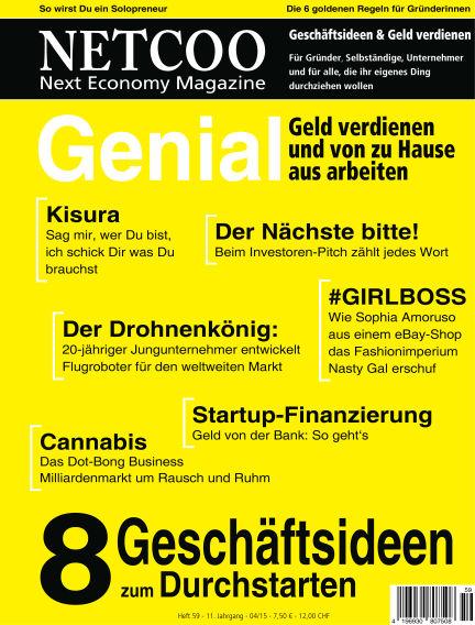 Netcoo Next Economy Magazine April 30, 2015 00:00