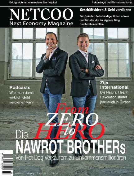 Netcoo Next Economy Magazine January 02, 2017 00:00