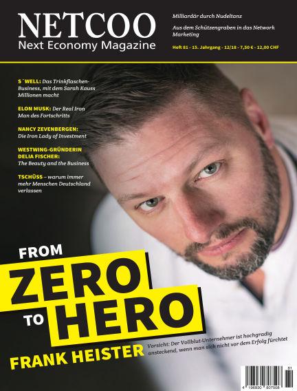 Netcoo Next Economy Magazine January 02, 2019 00:00