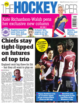 The Hockey Paper 15th February 2017