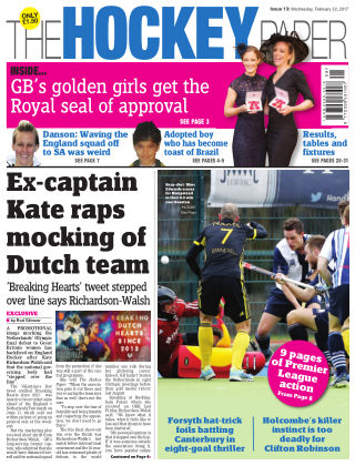 The Hockey Paper 22nd February 2017