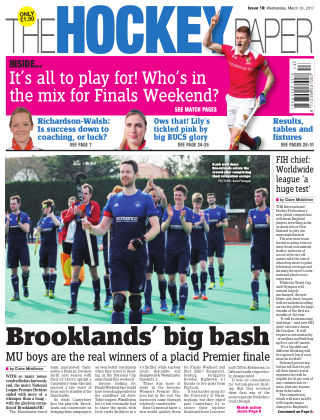 The Hockey Paper 29th March 2017