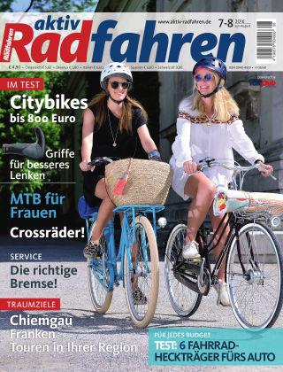 aktiv Radfahren 07-08/2016