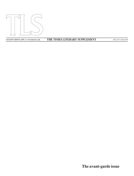 The TLS August 09, 2019 00:00