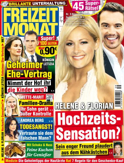 Freizeit Monat October 14, 2016 00:00