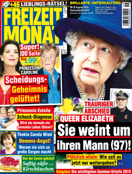 Freizeit Monat June 29, 2018 00:00
