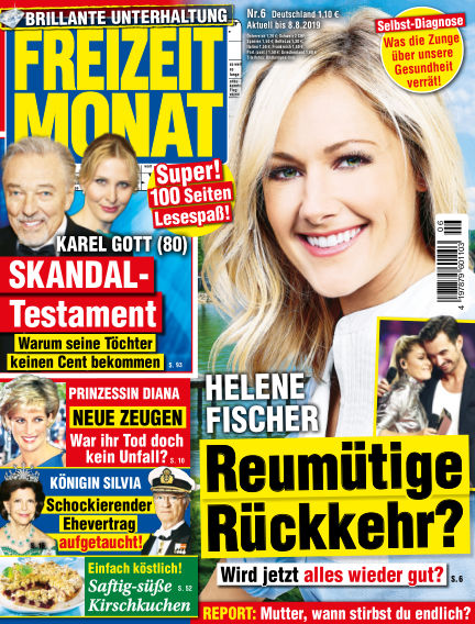 Freizeit Monat July 05, 2019 00:00