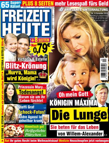 Freizeit Heute October 28, 2016 00:00