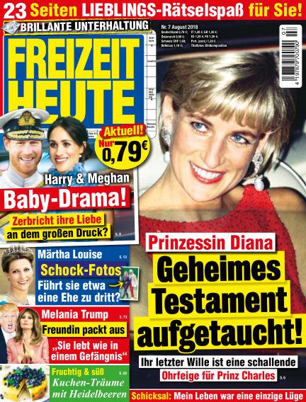 Freizeit Heute July 13, 2018 00:00