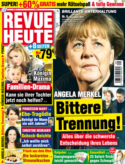 Revue Heute October 05, 2016 00:00