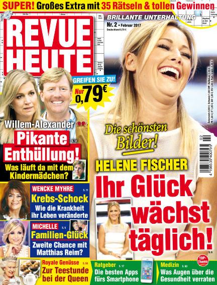 Revue Heute January 25, 2017 00:00
